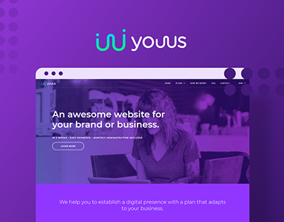 Youus - Web Design and Concept