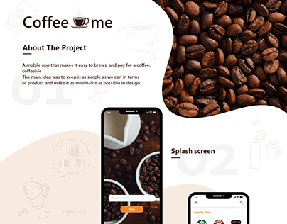 Coffee App - UX Case Study