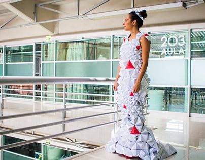 Teaching Portfolio :: Sustainable Dresses  :: 2015