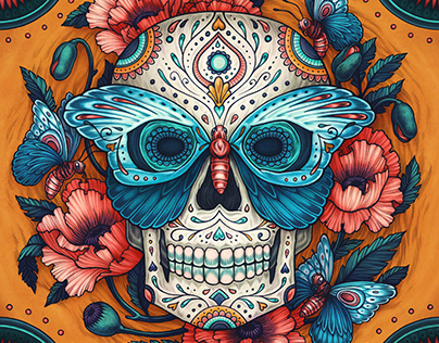 Day of the Dead 2019 Calendar
