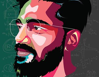 Digital Portrait (illustration)