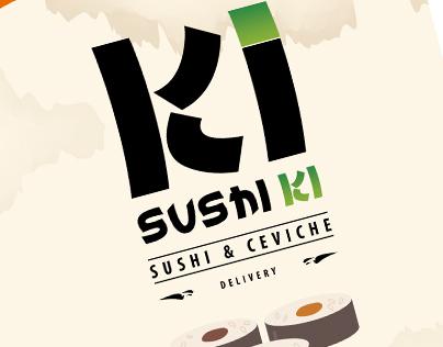 Logotipo y carta de productos Sushiki