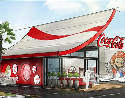 Coca-Cola Drive-Thru