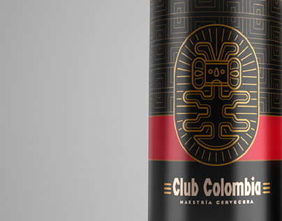 Club Colombia 269ml Can Render