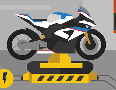 BMW - infographic for motorcycle plant