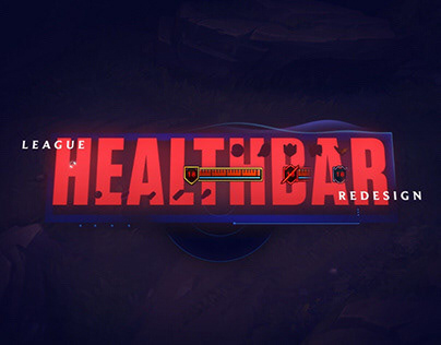 League Healthbar Redesign