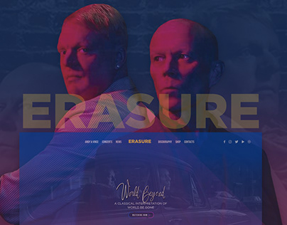 Erasure | UI-UX DESIGN