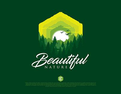Beautiful Nature illustration design