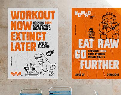 NOMAD Gym (Thinking*Room x ADGI Branding Week)