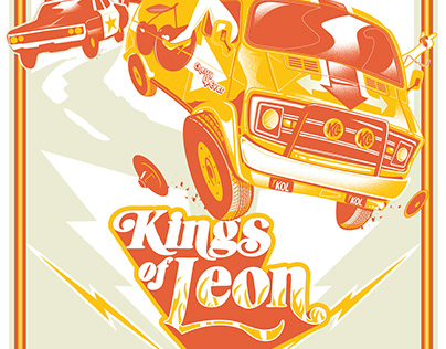 Kings of Leon VIP Poster - New Jersey 2017
