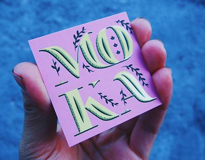 Moca - Personal Card -