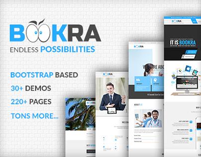 BOOKRA   Multi-Purpose HTML5 Template
