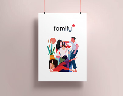 Ilustración - Family