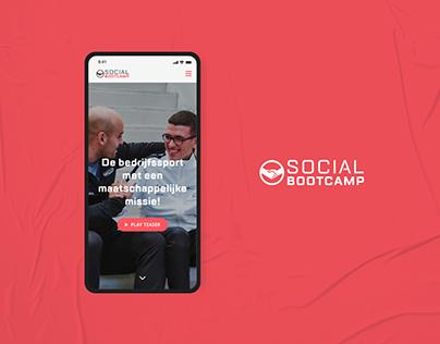 Social Bootcamp - Website