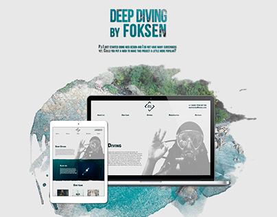 Deep Diving   Web-Design