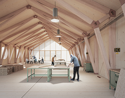Student workshop - Wooden structures lab