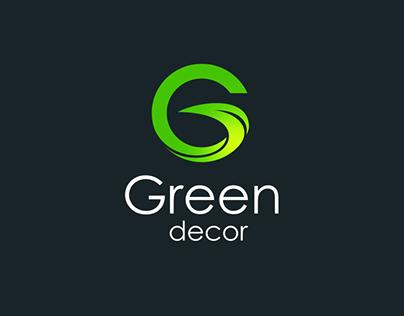 Green decor  Logo