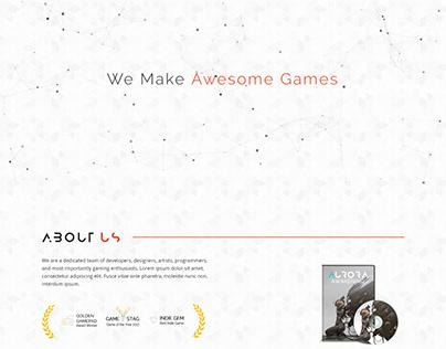 STRIDER - A Game Studio Template