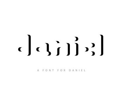 A font for Daniel