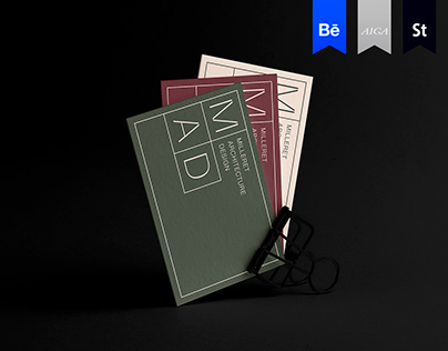 BRANDING • MAD (Milleret Architecture Design)