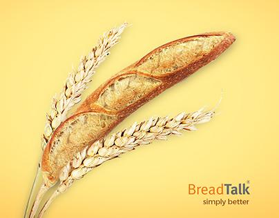 BreadTalk Branding Campaign