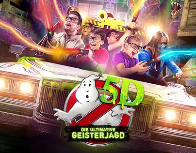 Heide Park Resort | Ghostbusters 5D