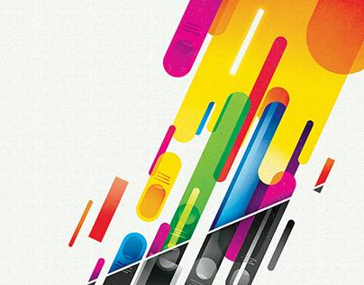 Sound & Color: AIGA Atl Poster Show + Mixtape Collab.