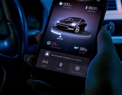 Fiat Chrysler Automobiles Mobile Application