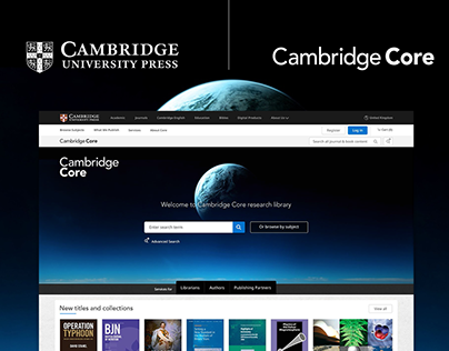 Cambridge Core Platform Design