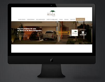 Site - Reserva da Mata - WordPress
