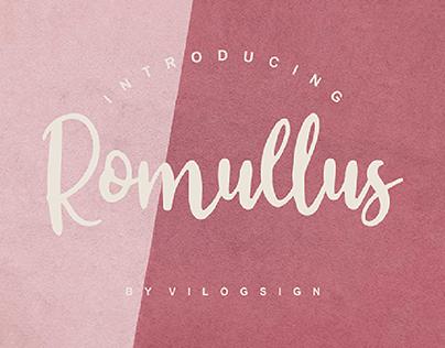 Romullus // Playful Script Font