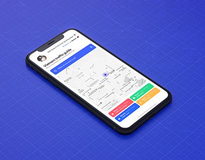 Vietnam Traffic Guide - App Concept