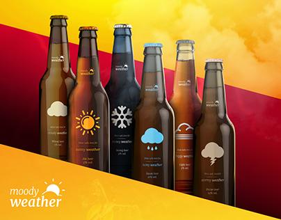 Moody Weather - Beer Brand Design