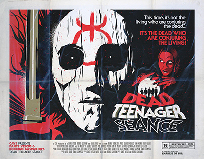 Dead Teenager Séance | Movie Poster