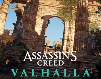 Assassin's Creed Valhalla - Marketplace Winchester city