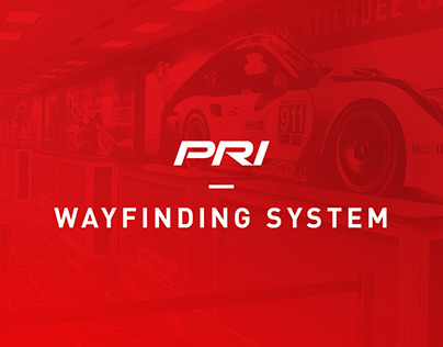 Wayfinding – Performance Racing Industry Trade Show
