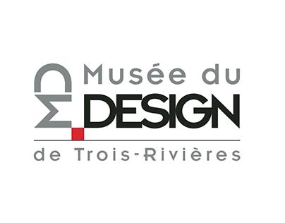 Projet Musée du Design - logo et papeterie