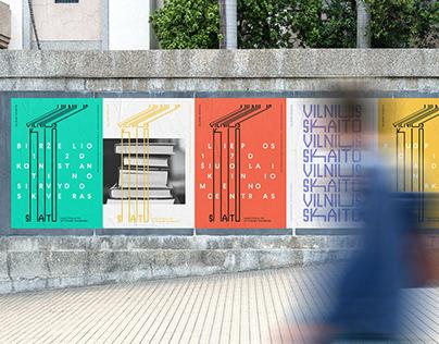 Vilnius Skaito / Vilnius Reads Branding