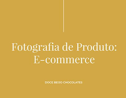 Fotografia | E-Commerce Doce Beijo