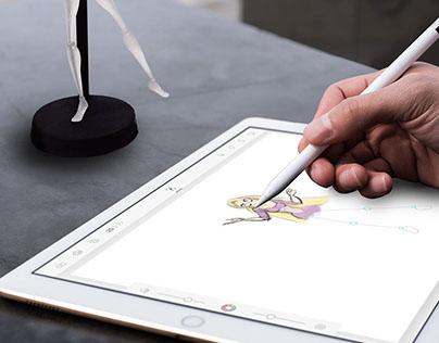 Modulus: Digital Drawing Mannequin