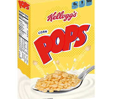 cereal box recreation