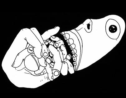 A indigestão do toque