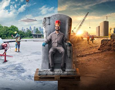 O Rei da Obra ( The King of the Construction )