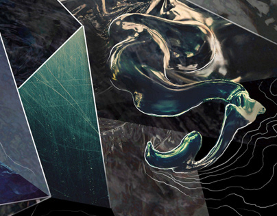 Abstract construction   Digital painting