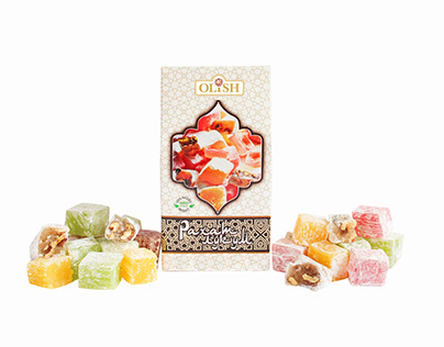 Photographing oriental sweets