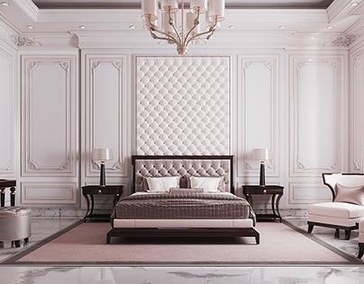 Neoclassic Bedroom Design