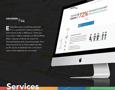 Conversion Bug Website Redesign