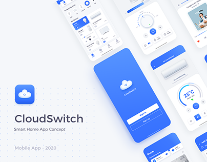 CloudSwitch - Smart Home Concept