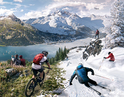 SkiService Corvatsch — Summer Winter Sports in the Alps