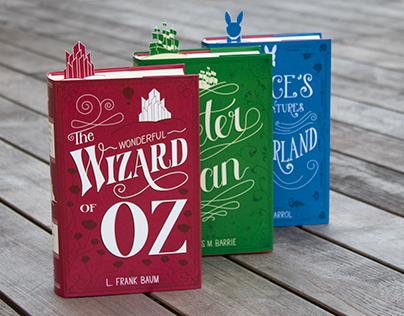 Book Covers «Wonderland Stories»